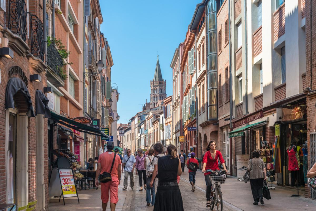 Logement étudiant Toulouse – Vue sur le centre-ville de Toulouse