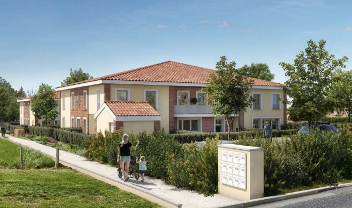Appartements neufs Balma référence 5901 : aperçu n°2