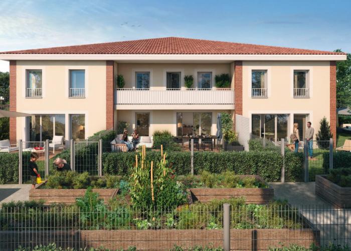 Appartements neufs Balma référence 5901 : aperçu n°3