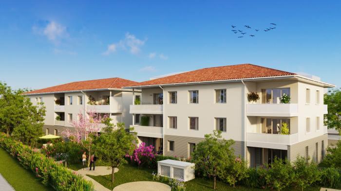 Appartements neufs Croix-Daurade référence 5906 : aperçu n°0