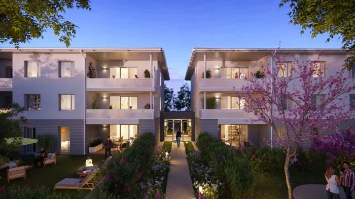 Appartements neufs Croix-Daurade référence 5906 : aperçu n°2