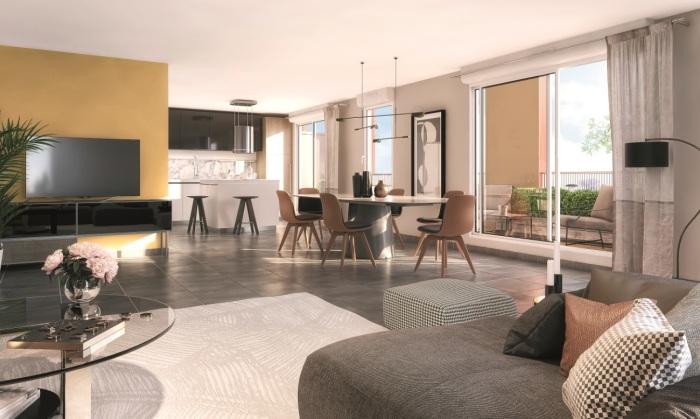 Appartements neufs Jolimont référence 5910 : aperçu n°1