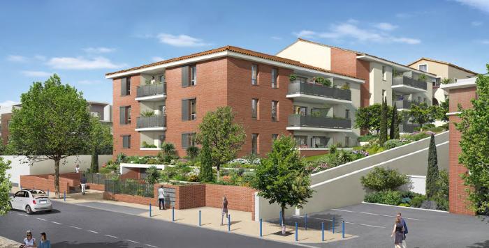 Appartements neufs Castanet-Tolosan référence 5908 : aperçu n°0