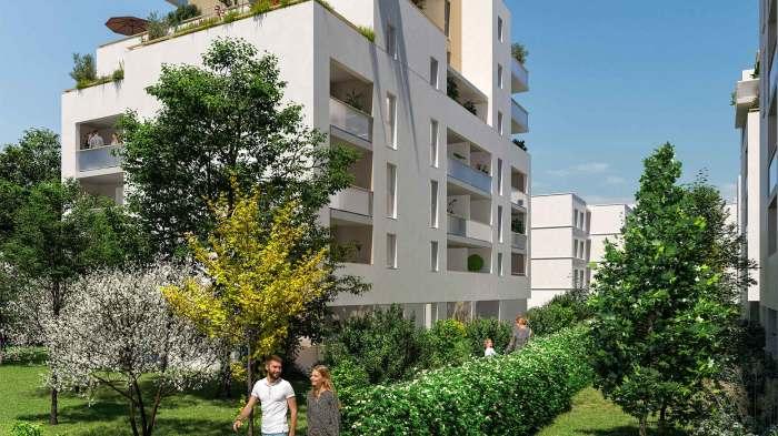 Appartements neufs Montaudran référence 5942 : aperçu n°0