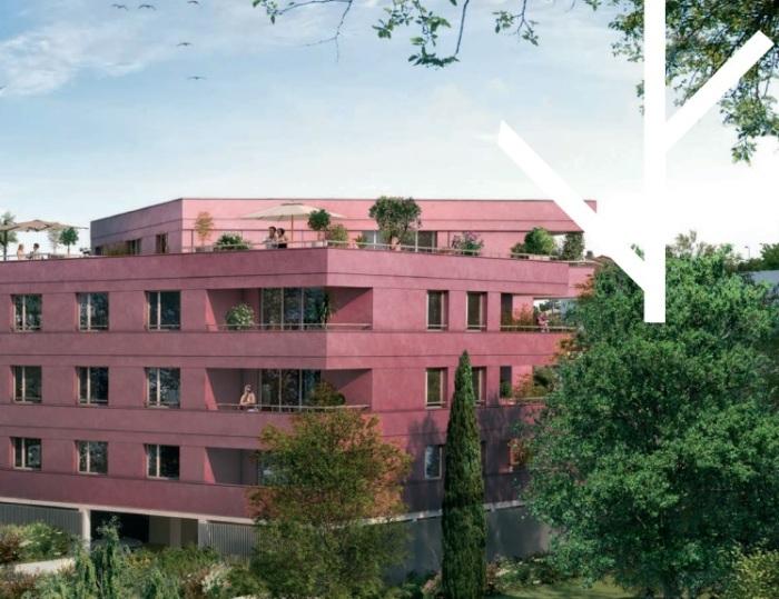 Appartements neufs Blagnac référence 5943 : aperçu n°0