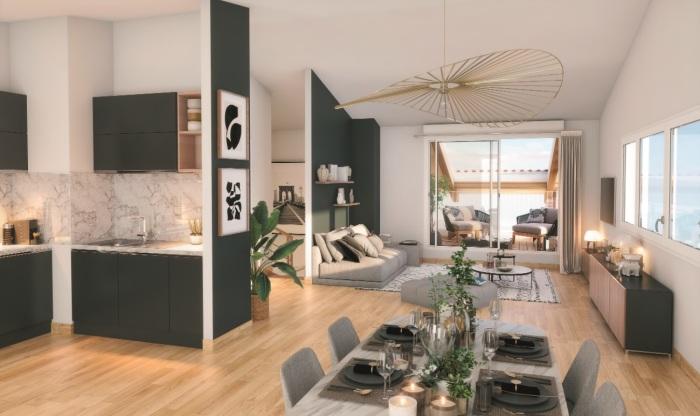 Appartements neufs Borderouge référence 5947 : aperçu n°1