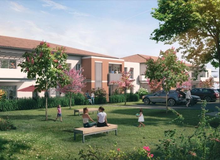 Appartements neufs Saint-Alban référence 5953 : aperçu n°0