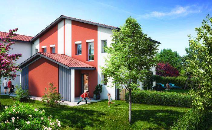 Appartements neufs Saint-Alban référence 5953 : aperçu n°2
