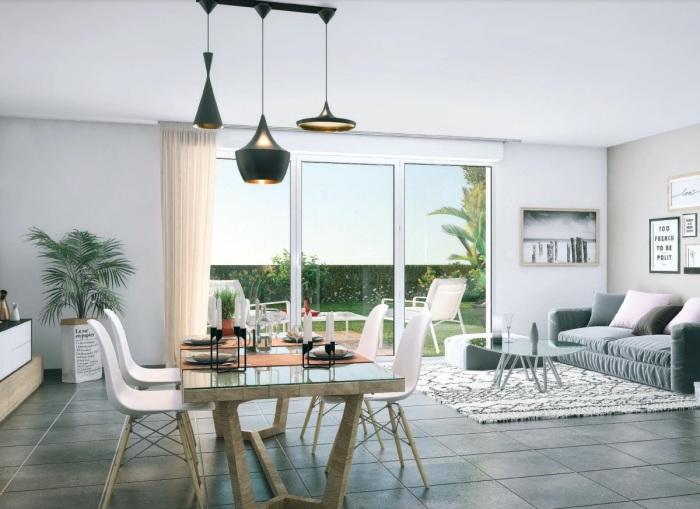 Appartements neufs Saint-Alban référence 5953 : aperçu n°1