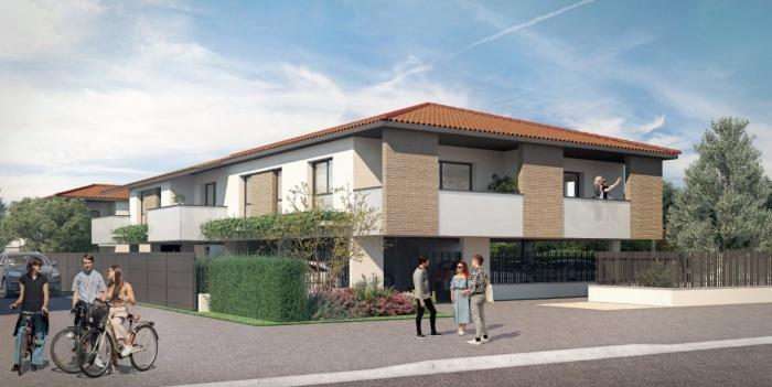 Appartements neufs Aucamville référence 5962 : aperçu n°0