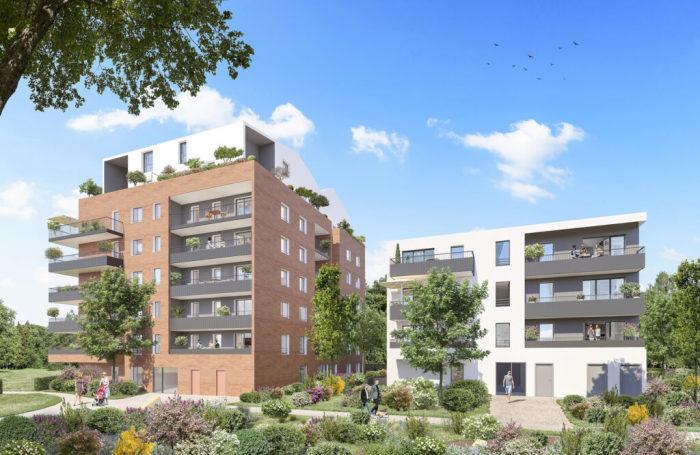 Maisons neuves et appartements neufs Montaudran référence 5968 : aperçu n°0