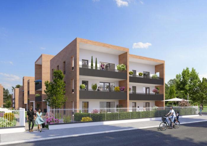 Maisons neuves et appartements neufs Montaudran référence 5968 : aperçu n°1
