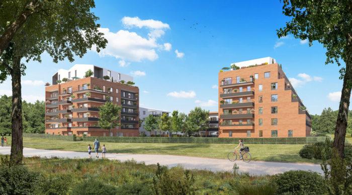 Maisons neuves et appartements neufs Montaudran référence 5968 : aperçu n°3