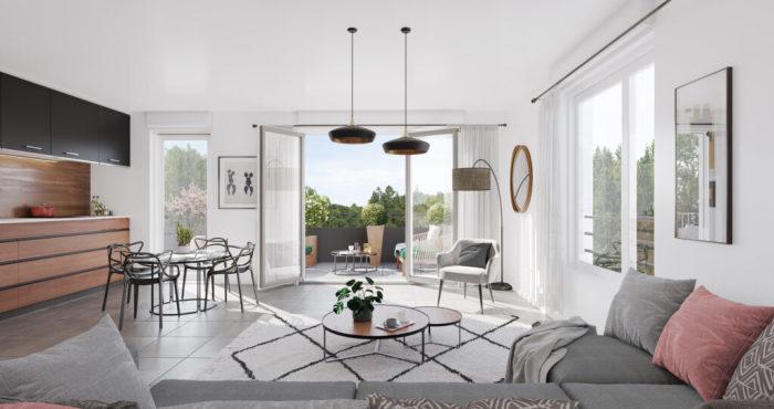 Maisons neuves et appartements neufs Montaudran référence 5968 : aperçu n°2