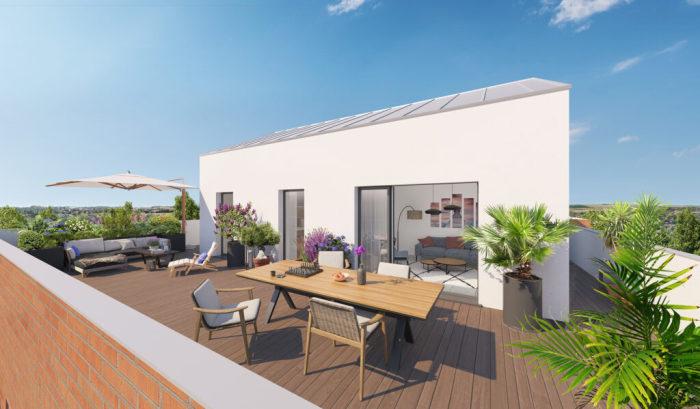 Maisons neuves et appartements neufs Montaudran référence 5968 : aperçu n°4