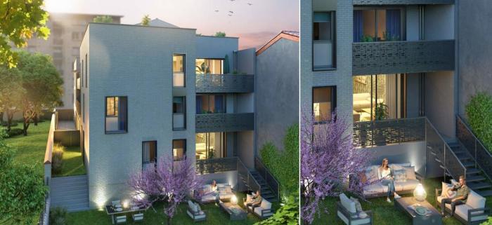 Appartements neufs Saint-Michel référence 5966 : aperçu n°2