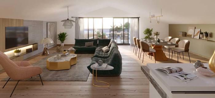 Appartements neufs Saint-Michel référence 5966 : aperçu n°1
